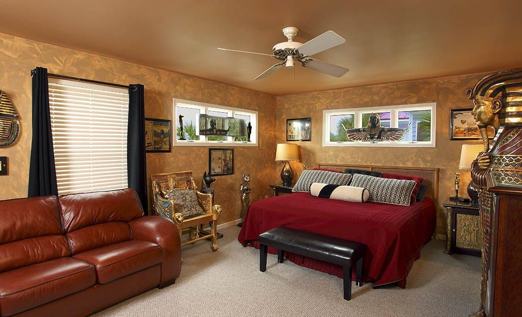 vacation property egyptian theme room isle of palms sc