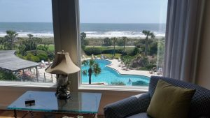 THE DOLFIN'S WATCH-ENDLESS OCEAN VIEWS/OCEAN FRONT-OVER LOOKING SHIPWATCH'S HEATED POOL- 2B/2B-RESORT-AMELIA ISLAND FL-BEACH-PET W/ Approval